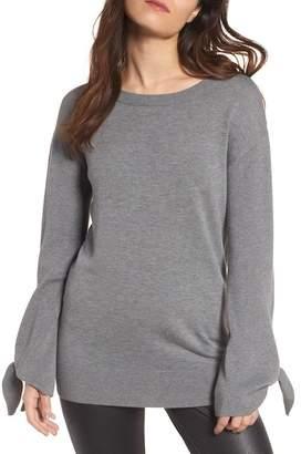 Trouve Tie Sleeve Sweater