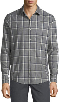 Original Penguin Men's Jaspe Brushed Flannel Sport Shirt