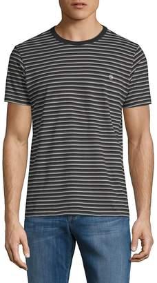 Tavik Men's Union Stripe Short-Sleeve Cotton Tee