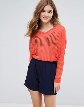Lavand Open Knit Sweater