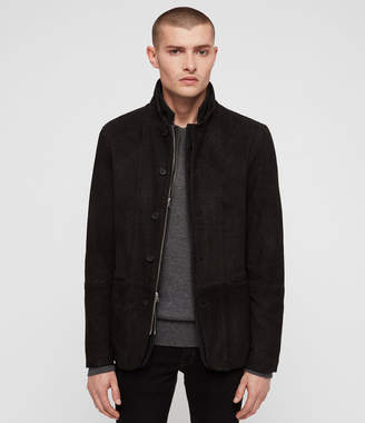 AllSaints Dayton Leather Blazer