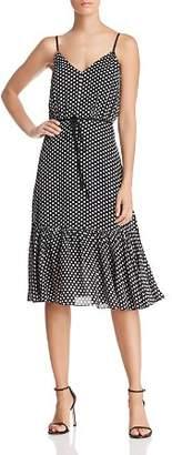 Milly Tiffany Dot Silk Dress