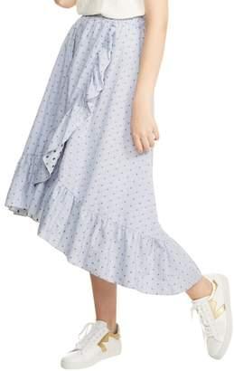 Maje Johno Ruffle Prairie Skirt