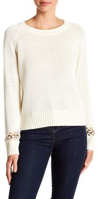 A.L.C. Dree Grommet Detailed Sweater