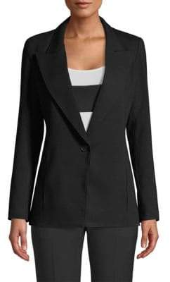 Smythe Tab One-Button Blazer