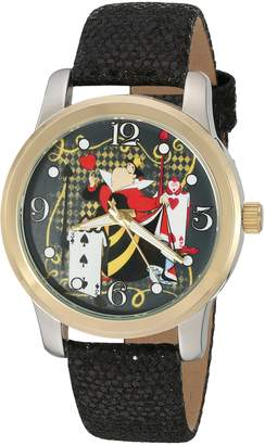 Disney Women's 'Alice in Wonderland' Quartz Metal Automatic Watch, Color: (Model: W002899)