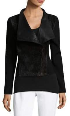 Elie Tahari Courtney Wool Jacket