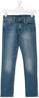 Ralph Lauren Teen faded straight leg jeans