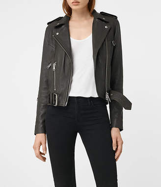 AllSaints Gidley Leather Biker Jacket