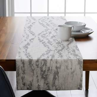 west elm Bark Texture Jacquard Runner