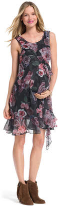 Jessica Simpson Maternity Sleeveless Floral-Print Dress $79 thestylecure.com