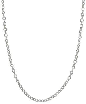 Heather B Moore 24 Inch 3mm Chain Necklace - Sterling Silver
