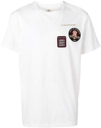 Kent & Curwen logo patch T-shirt