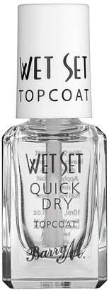 Barry M Cosmetics Quick Dry Topcoat - Nude