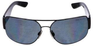 Polo Ralph Lauren Logo Aviator Sunglasses