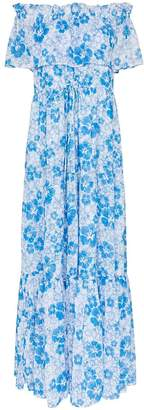 All Things Mochi kona floral-print maxi dress
