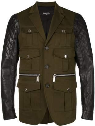 DSQUARED2 multiple pockets jacket
