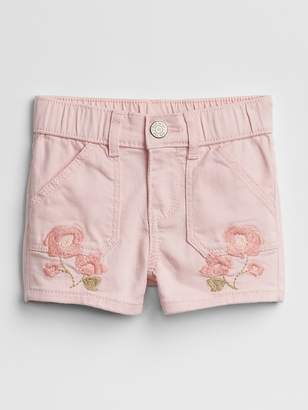 """Gap 3"""" Embroidery Shortie Shorts"""