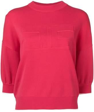 Elisabetta Franchi round neck sweater