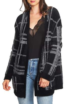 1 STATE 1.STATE Plaid Cardigan