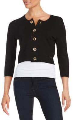 Calvin Klein Knit Toggle Cardigan