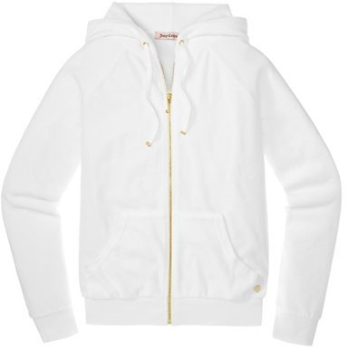Juicy Couture Relaxed Jacket in Bridal Velour