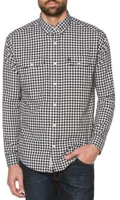 Original Penguin Classic-Fit Gingham Check Button-Down Shirt