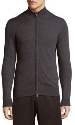 Saks Fifth Avenue High Neck Wool Jacket