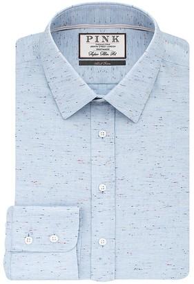 Thomas Pink Wilde Plain Super Slim Fit Dress Shirt - Bloomingdale's Slim Fit $195 thestylecure.com