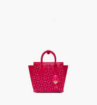 MCM Neo Milla Tote In Perforated Leather