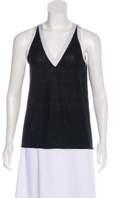 Akris Punto Linen Sleeveless Top