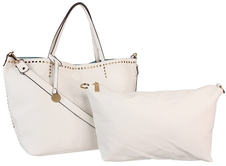 Culture Phit Kendall Oversized Tote (Cream) - Bags and Luggage