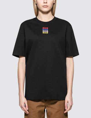 MSGM Mirco Color Logo S/S T-Shirt