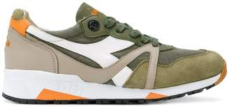 Diadora panelled lace-up sneakers