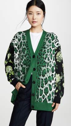 MSGM Leopard Cardigan