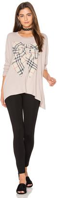 Lauren Moshi Mira Oversized Pullover $158 thestylecure.com