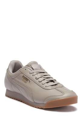 Puma Roma Classic Gum Leather Sneaker