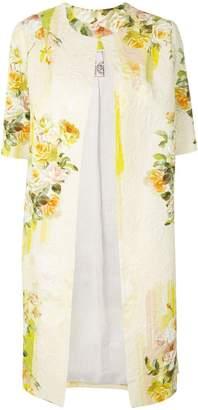 Antonio Marras shortsleeved floral coat
