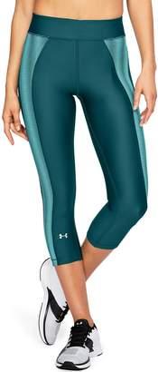 Under Armour Women's Heatgear Midrise Novelty Capri Leggings