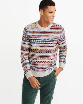 Abercrombie & Fitch Fair Isle Sweater