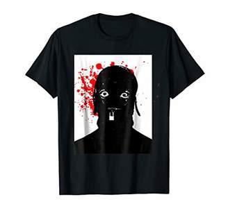 Scary Bloody Gimp Stare Punk Rocker T Shirt