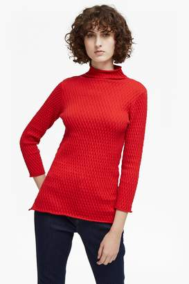 French Connenction Molly Mozart Knit High Neck Jumper