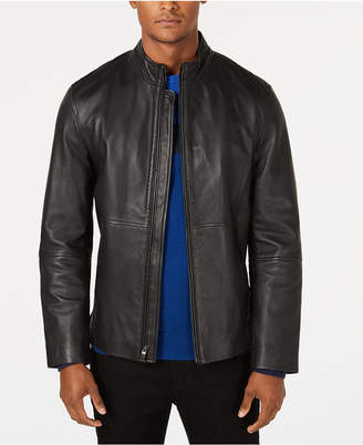 Alfani Men's Full-Zip Leather Jacket