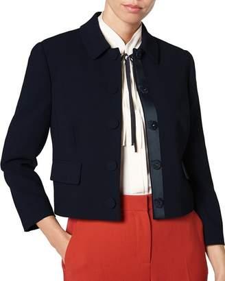 LK Bennett L.K.Bennett Snap-Front Jacket