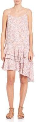 Camellia Asymmetrical Tier Dress