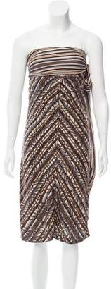 Missoni Strapless Mini Dress