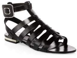 Roger Vivier Mini Buckle Gladiator Sandals