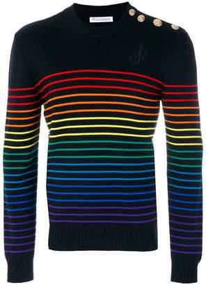J.W.Anderson rainbow stripe sweater