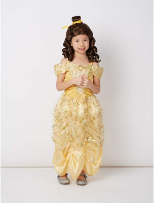 Bell George Disney Princess e Fancy Dress Costume