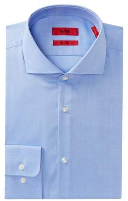 BOSS Meli Solid Sharp Fit Dress Shirt